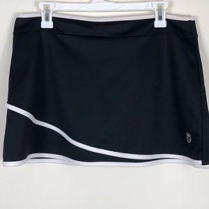 K-SWISS Black Skort Size Large